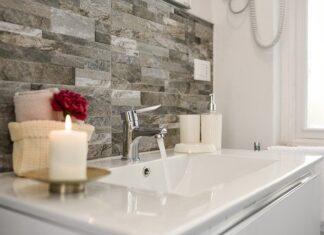 Akrylowa umywalka do łazienki