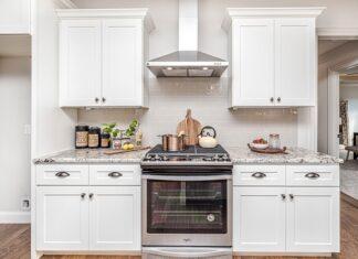 Piekarnik wbudowany w zabudowę kuchenną