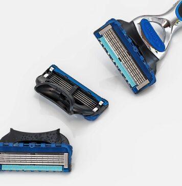 Maszynka do golenia z wymiennymi ostrzami