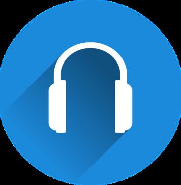 Słuchawki nauszne, bezprzewodowe.