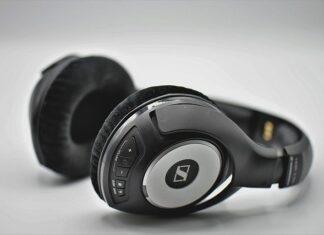 Słuchawki całkowicie nauszne, bezprzewodwe