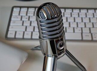 Bezprzewodowy mikrofon na biurko